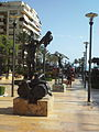 Dali statues at Avenida del Mar.JPG