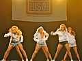 Dallas Cowboys Cheerleaders Performance - U.S. Army Garrison Humphreys, South Korea - 21 December 2011 (6558433883).jpg