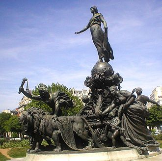 Place de la Nation - The Triumph of the Republic by Aimé-Jules Dalou