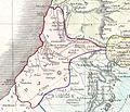 Dan. 1852 Philip Map of Palestine - Israel - Holy Land - Geographicus - Palestine-philip-1852.jpg