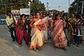 Dancing Devotees - Durga Idol Immersion Ceremony - Baja Kadamtala Ghat - Kolkata 2012-10-24 1697.JPG