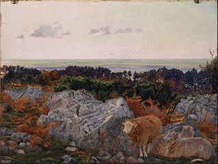 Morecambe Bay from Warton Crag