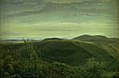 Dankvart Dreyer - The Coast of Jutland Seen from Mølleknap Hills in Funen. Study - KMS3631 - Statens Museum for Kunst.jpg