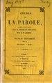 Darby - Études sur la Parole - Nouveau Testament, Vol. 1, 1854.pdf