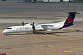 Dash 8-Q400 of Brussels Airlines at Hanover-Langenhagen International Airport.jpg