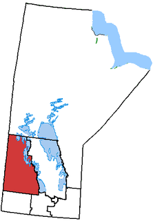 Dauphin—Swan River—Marquette federal electoral district in Manitoba