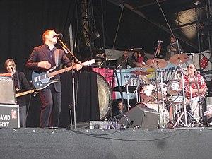David Gray (musician) - Gray and his band performing in 2006