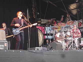 David Gray (musician) - Gray and his band performing in 2006