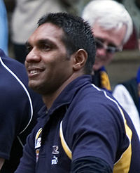 David Wirrpanda, 2005 AFL Grand Final parade.jpg