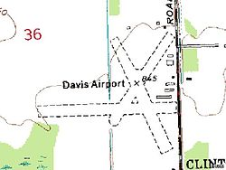 Davis Airport Michigan Topo USGS 01-Jul-80.jpg