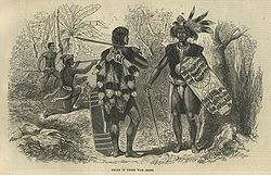 Dayaks in their war dress.jpg