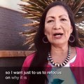 File:Deb Haaland speaks about 4th of July in 2019.ogv