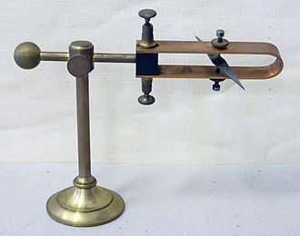 Magnetic declination - Antique declinometer