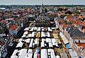 Delft Blick von der Nieuwe Kerk auf den Marktplatz 4.jpg