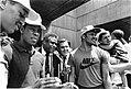 Dennis Johnson, Quinn Buckner, K.C. Jones, Mayor Raymond L. Flynn, Carlos Clark, Danny Ainge (9516896477).jpg
