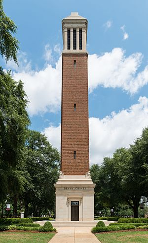 Denny Chimes - Denny Chimes on The Quad, following cleaning and restoration