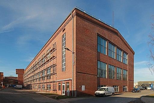 Der Audi-Bau in Zwickau