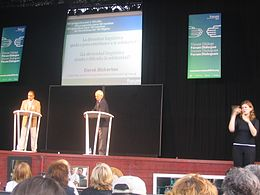 Derek Bickerton at the 2004 conference Universal Forum of Cultures in Barcelona.jpg