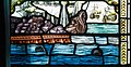 Derry Guildhall Tercentenary Window of The Honourable The Irish Society Right Side Window Detail The arrival of the relief ships at the city quay 2019 08 29.jpg