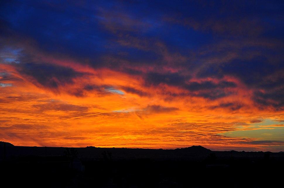 Desert Rim Sunset