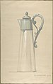 Design for Glass and Silver Water Pitcher, with a Cover MET DP805648.jpg