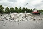 Destruction de l'Aérophare sur le parking du Centre commercial Evry 2 le 20 juin 2015 - 5.jpg