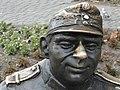 Detail of Sculpture of The Good Soldier Svejk - Przemysl - Poland (36204208662).jpg