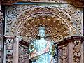 Detalle del Retablo del Templo de San Juan Bautista Amalucan, Puebla (s. XVII) 02.JPG