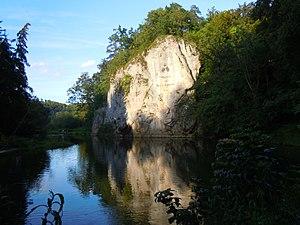 "Princess Amalie Zephyrine of Salm-Kyrburg - The ""Amalienfels"" on the Danube"