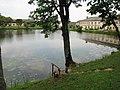 Dižstendes dzirnavu ezers. Dižstenede lake, august, 2014 - panoramio.jpg