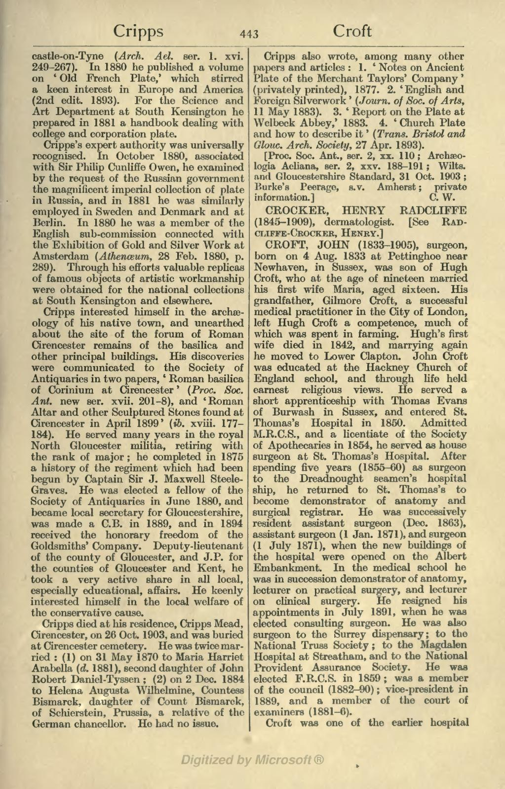 photograph about Printable Dictionary Pages known as Web page:Dictionary of Countrywide Biography, Minute Dietary supplement