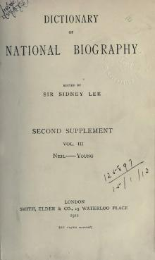 Dictionary of National Biography, Second Supplement, volume 3.djvu