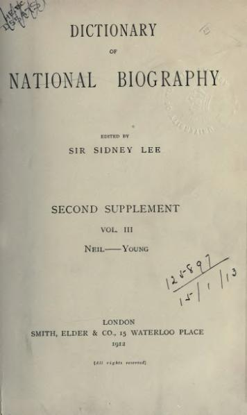 File:Dictionary of National Biography, Second Supplement, volume 3.djvu