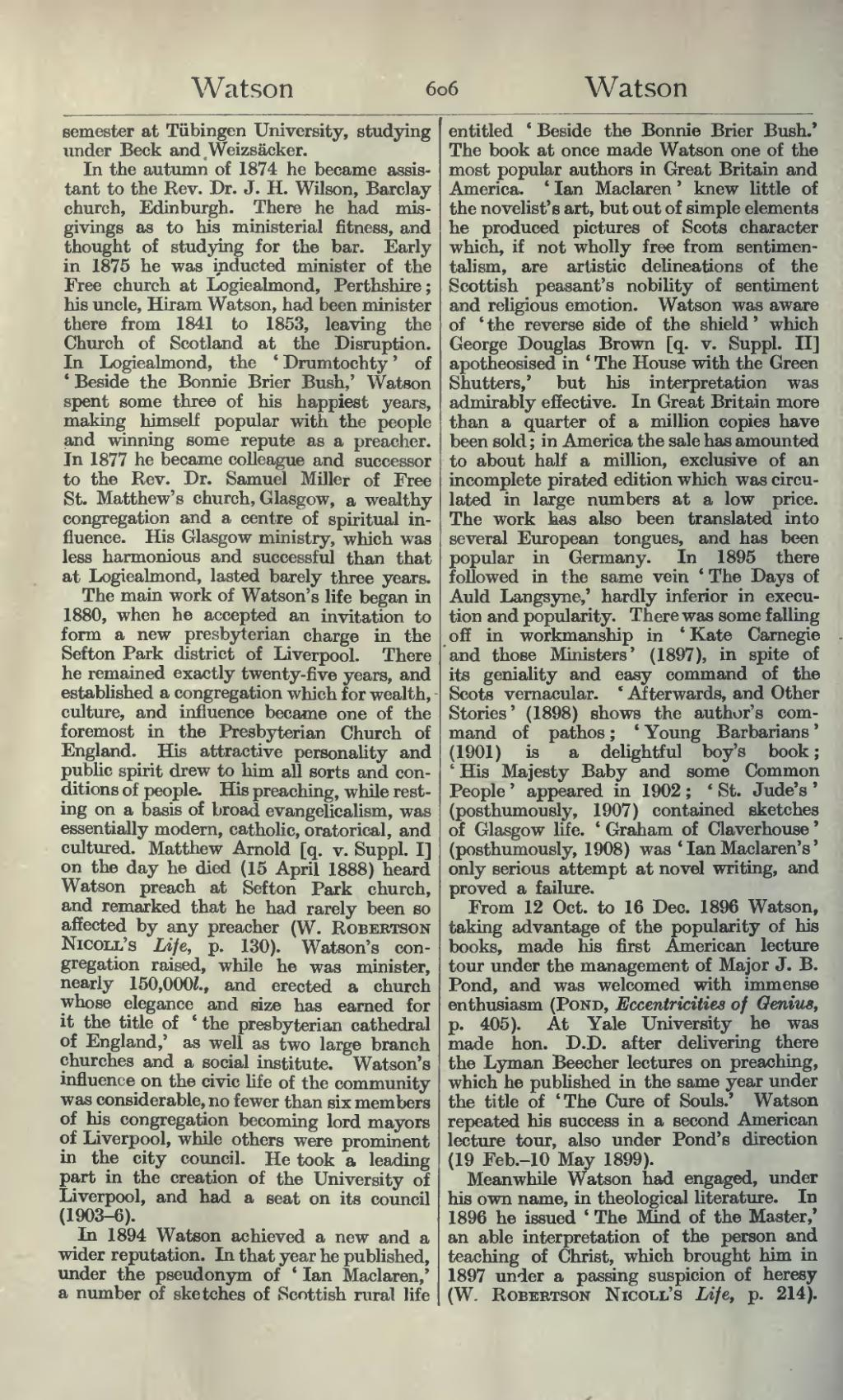 Page Dictionary Of National Biography Second Supplement Volume 3