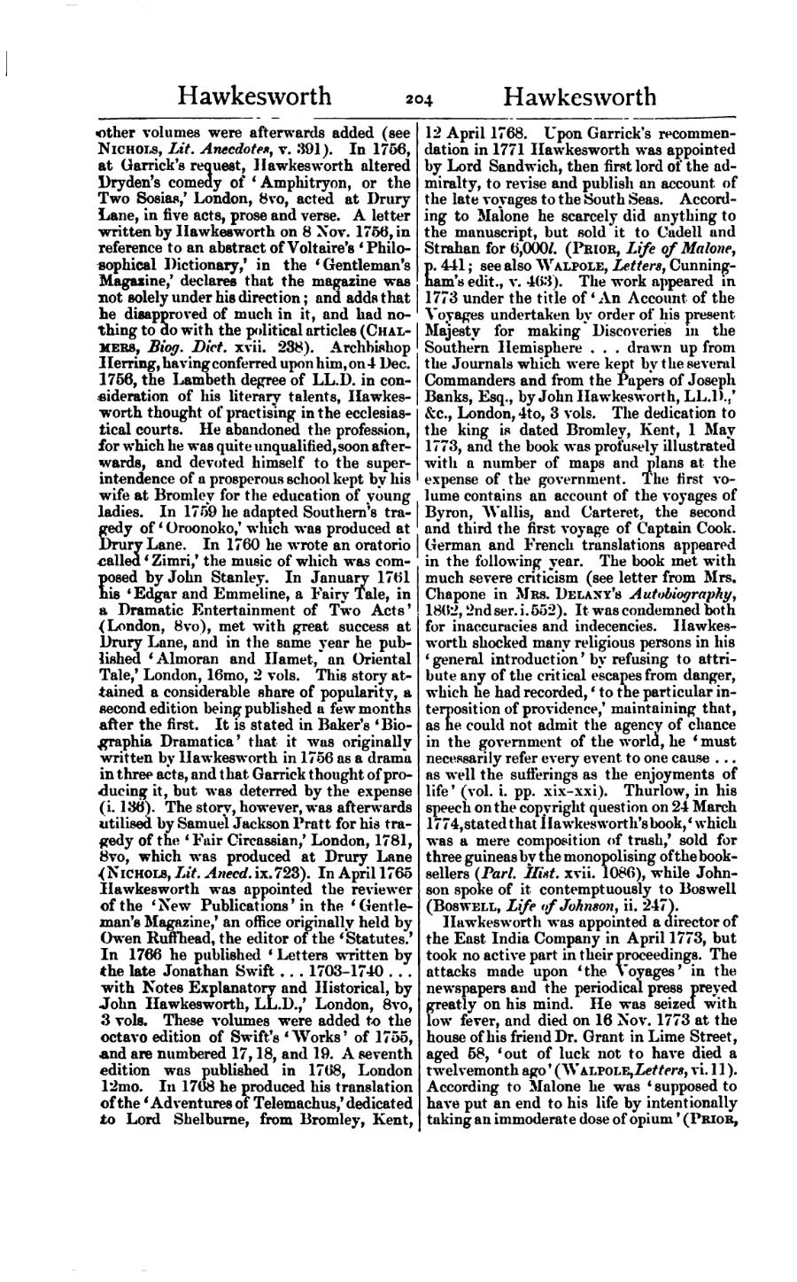 Pagedictionary of national biography volume 25vu210 a twelvemonth ago walpole letters vi 11 according to malone he was supposed to have put an end to his life by intentionally taking an immoderate spiritdancerdesigns Image collections