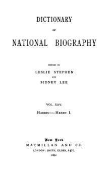 Dictionary of National Biography volume 25.djvu