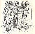 Die Fellhändler zu Mittag auf dem Brühl, Erich Ohser.jpg