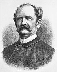 Ernst Keil Nach einer Photographie von W. Höffert in Leipzig auf Holz gezeichnet von Adolf Neumann aus Die Gartenlaube von 1878, Seite 573 (Quelle: Wikimedia)