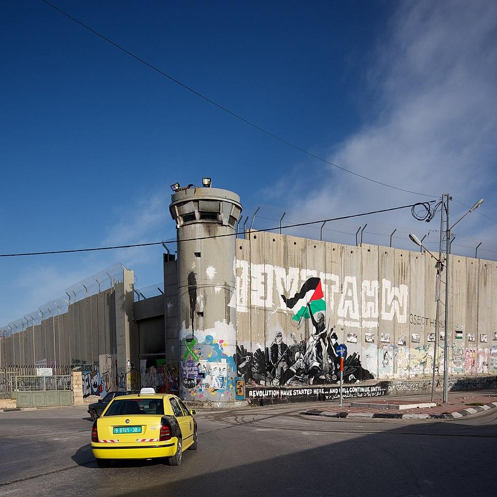 Die Mauer von Bethlehem