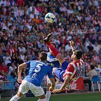 Chilena (fútbol) - Wikipedia, la enciclopedia libre