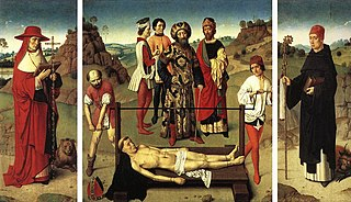 Triptych of the Martyrdom of St Erasmus