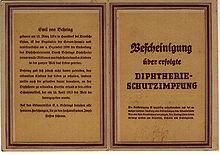 Diphtherie Behring