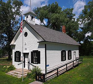 National Register of Historic Places listings in Meeker County, Minnesota - Image: District No. 48 School