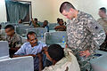 Djibouti U.S. Army Africa Soldiers offer first responder course 090806 (3820497054).jpg