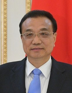 Li Keqiang Premier of the Peoples Republic of China