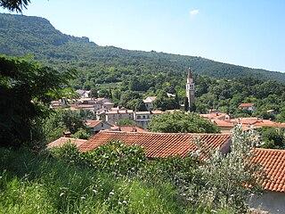 San Dorligo della Valle Comune in Friuli-Venezia Giulia, Italy
