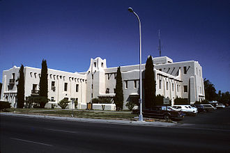 Las Cruces, New Mexico - Former Doña Ana County courthouse in Las Cruces