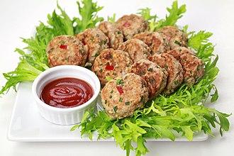 Jeon (food) - Image: Donggeurang ttaeng