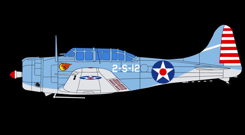 Douglas SBD-3 Dauntless USN Early (December 23 1941-May 8 1942) 2-S-12