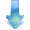 Down Arrow frost blue.png